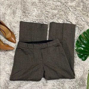 Anne Klein brown tweed style dress pant size 8P